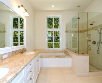 Palm Beach -  Parc Monceau, Master bath, 1